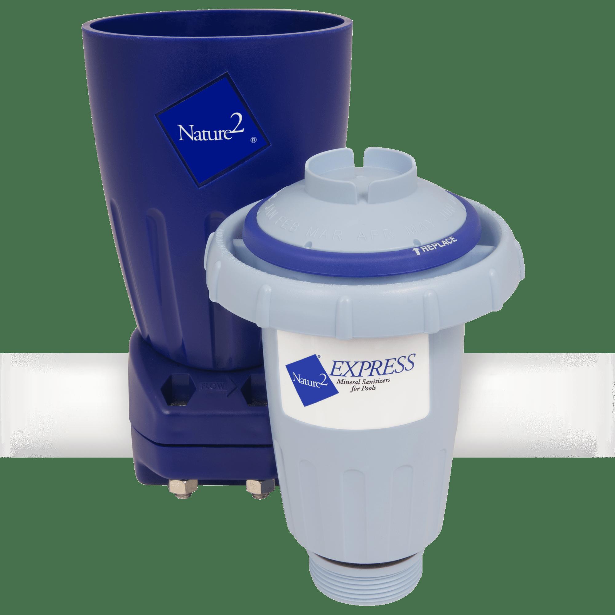 Swimming Pool Sanitizer : Nature express mineral sanitizer