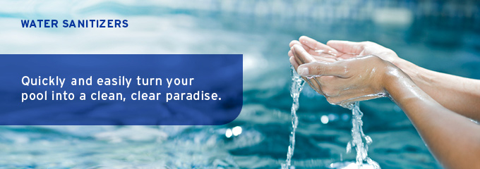 Pool and Spa Water Sanitizers